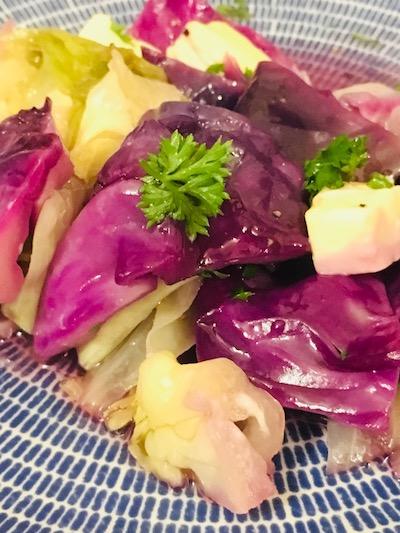 狛江教室年末サンガで大人気だったさんさん広場の岩手紫キャベツ!