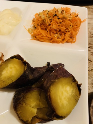 ラガーファームの焼き芋