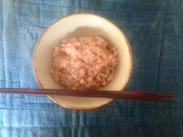 酵素玄米の5分粥