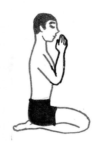 静坐の図 2